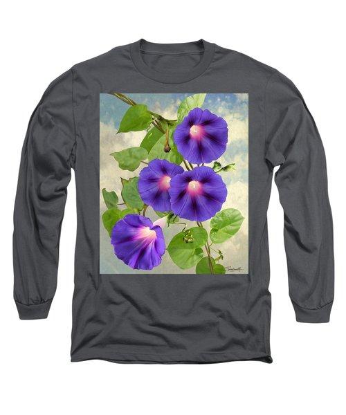 September Morning Glory Long Sleeve T-Shirt