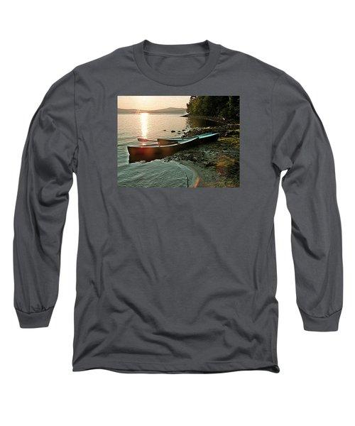 September Sunrise On Flagstaff Long Sleeve T-Shirt