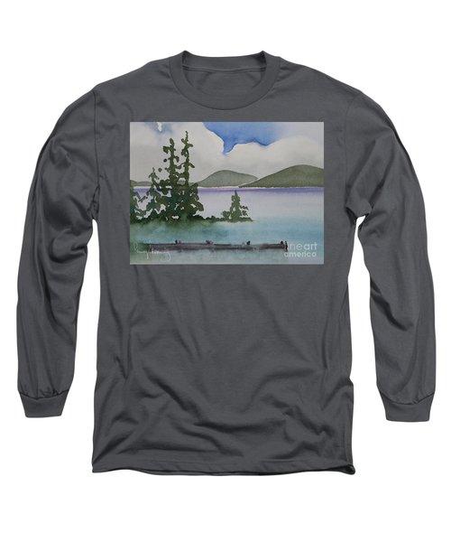 Serene Morning On Lake Superior Long Sleeve T-Shirt