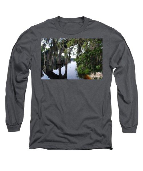Serene River Long Sleeve T-Shirt