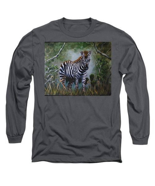 Serengeti Zebra Long Sleeve T-Shirt