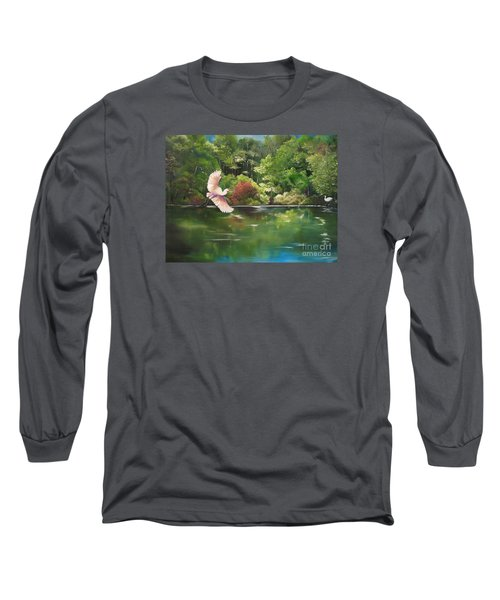 Serenity Long Sleeve T-Shirt by Carol Sweetwood