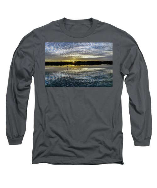 Serenity On A Paddleboard Long Sleeve T-Shirt