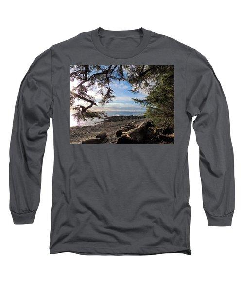 Serenity Surroundings  Long Sleeve T-Shirt by Karen Horn