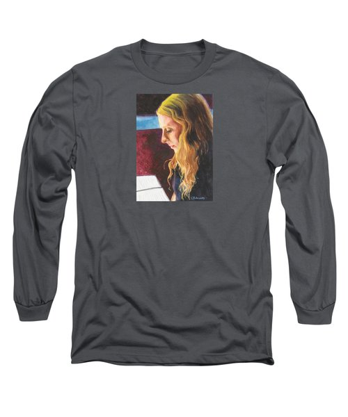 Serious Contemplation Of A Menu Long Sleeve T-Shirt