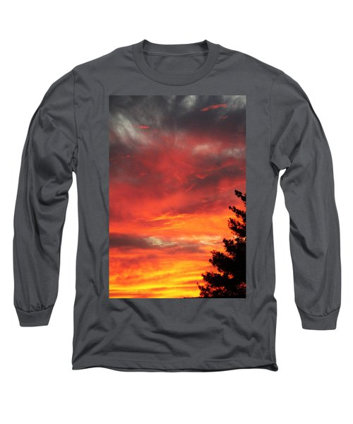 Desert Sunburst Long Sleeve T-Shirt