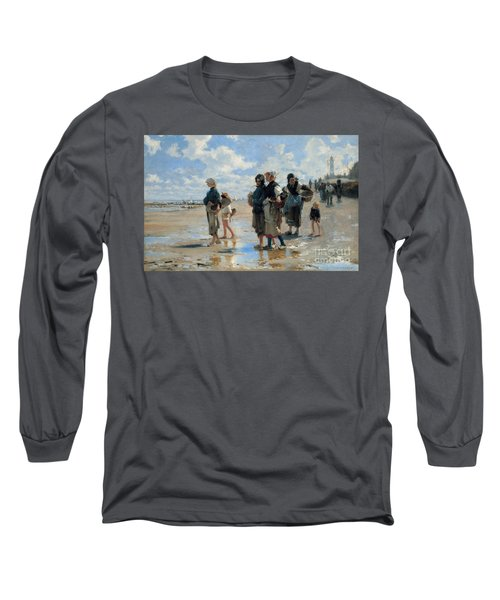 Setting Out To Fish Long Sleeve T-Shirt