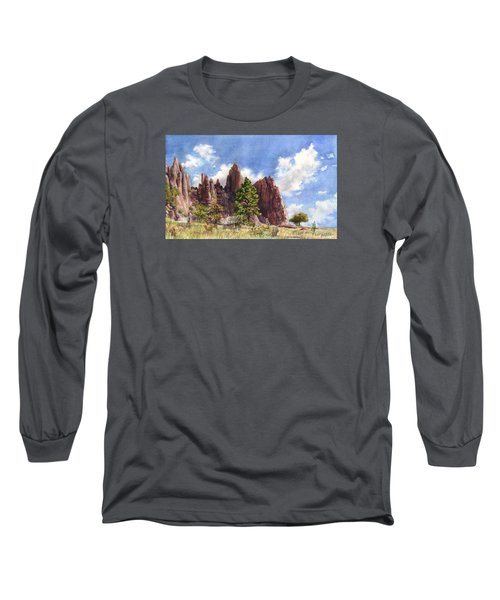 Settler's Park, Boulder, Colorado Long Sleeve T-Shirt by Anne Gifford