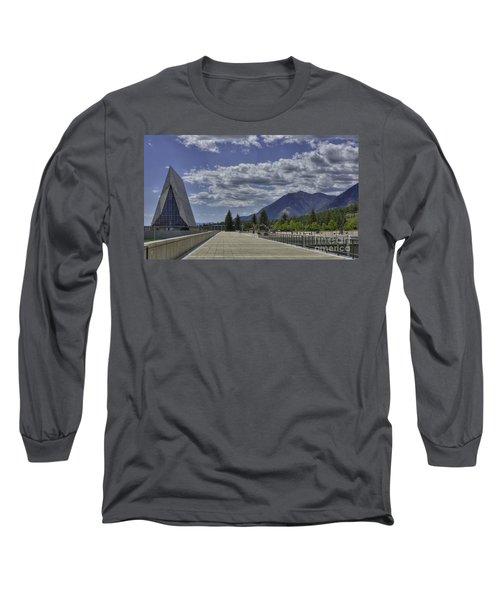 Seventeen Spires Long Sleeve T-Shirt by David Bearden