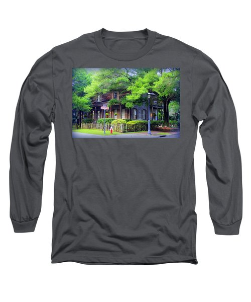 Seville Wooden House Long Sleeve T-Shirt