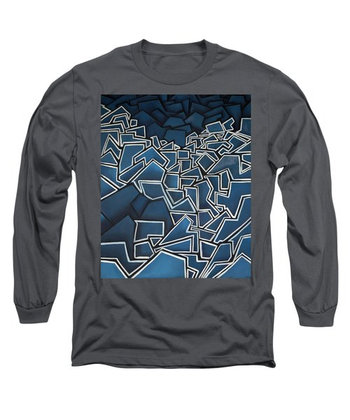 Shadderd Space Long Sleeve T-Shirt by Thomas Valentine