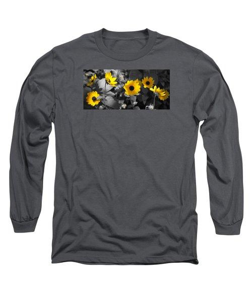Shaded Daisies Long Sleeve T-Shirt