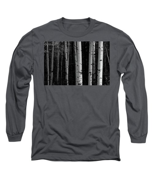 Long Sleeve T-Shirt featuring the photograph Shades Of A Forest by James BO Insogna