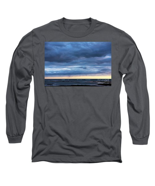 Long Sleeve T-Shirt featuring the photograph Shades Of Blue.. by Nina Stavlund