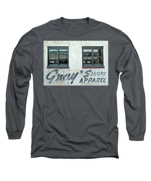 Long Sleeve T-Shirt featuring the photograph Shades Of Gray by Ethna Gillespie