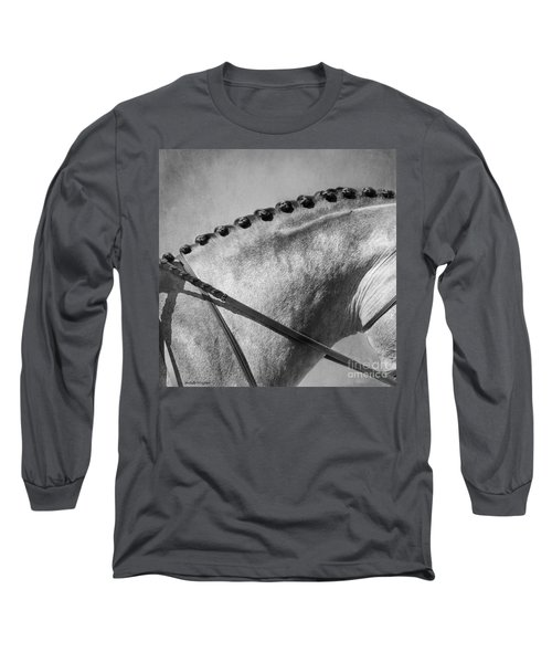 Shades Of Grey Fine Art Horse Photography Long Sleeve T-Shirt