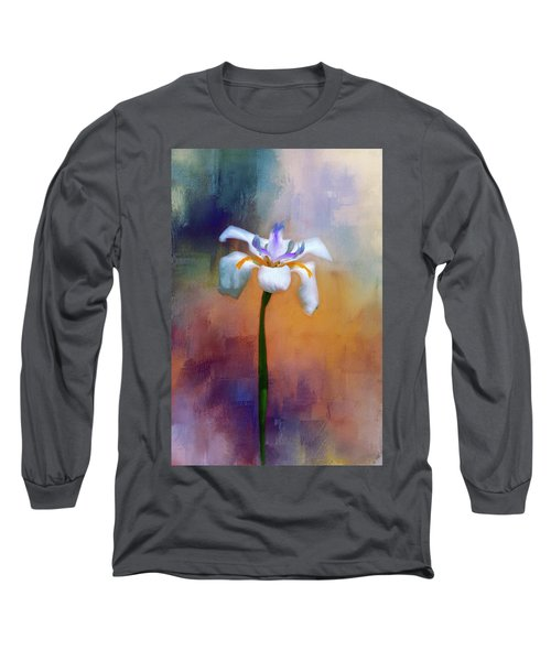Long Sleeve T-Shirt featuring the photograph Shades Of Iris by Carolyn Marshall