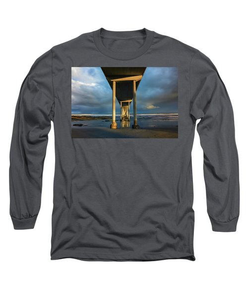 Shadow And Light Long Sleeve T-Shirt by Joseph S Giacalone