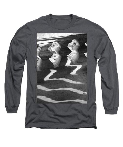 Shadow Of Railing Long Sleeve T-Shirt