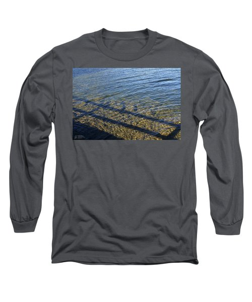 Long Sleeve T-Shirt featuring the photograph Shadow Play by Rhonda McDougall