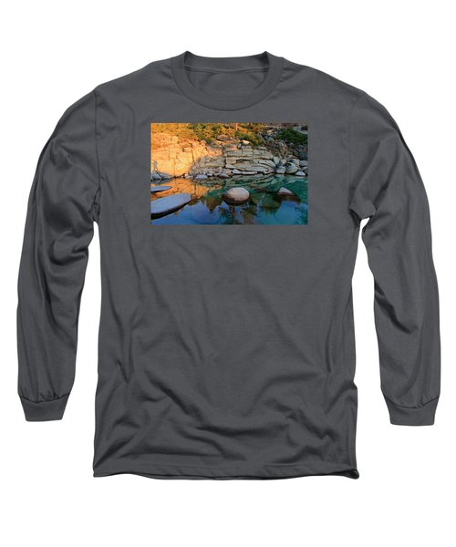Shadow Selfie Long Sleeve T-Shirt