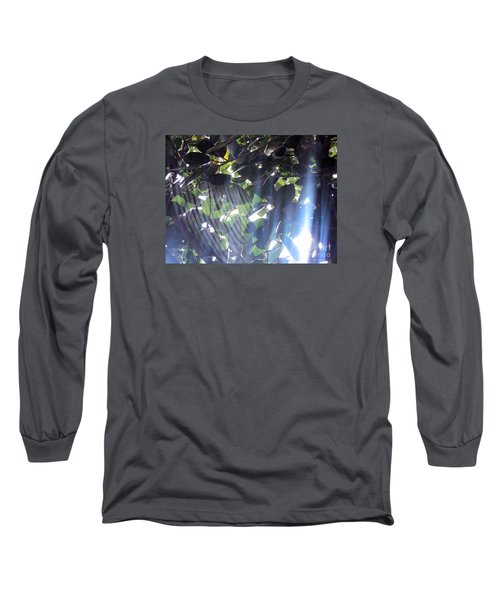 Long Sleeve T-Shirt featuring the photograph Shadow Threads by Megan Dirsa-DuBois