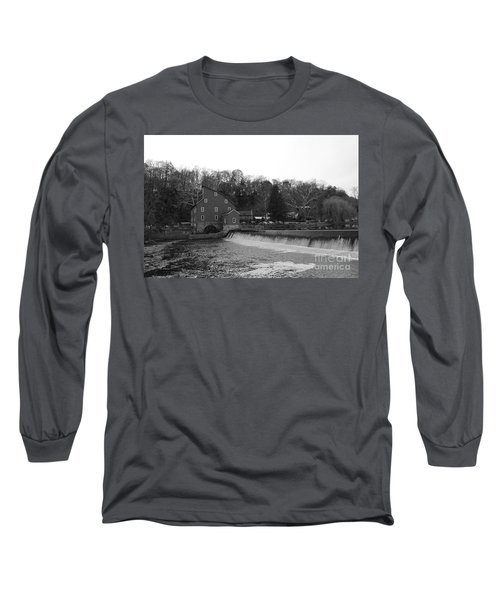 Shadows On The Mill In Clinton Long Sleeve T-Shirt