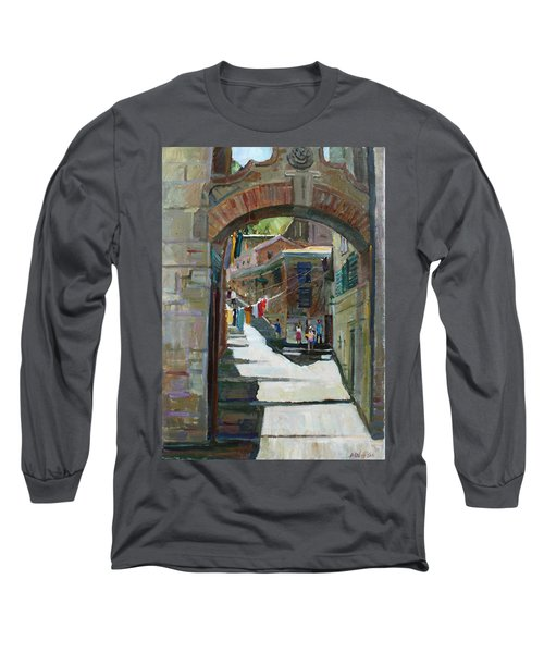 Shadows The Old Town Long Sleeve T-Shirt