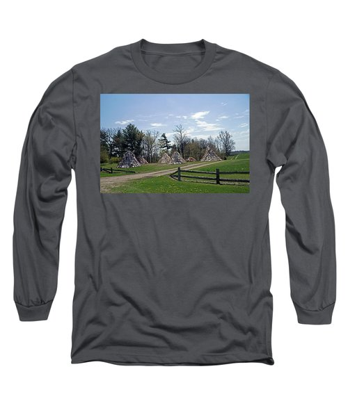 Shaker Teepees? Long Sleeve T-Shirt