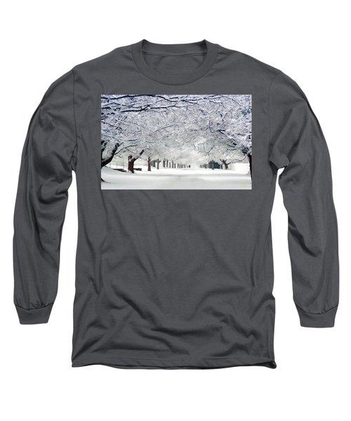 Shaker Winter Walkway Long Sleeve T-Shirt