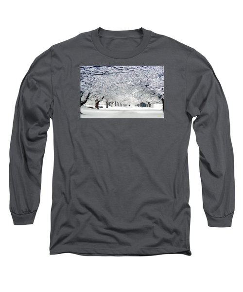 Shaker Winter Walkway Long Sleeve T-Shirt