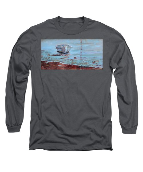 Shallow Tether Long Sleeve T-Shirt by Trina Teele