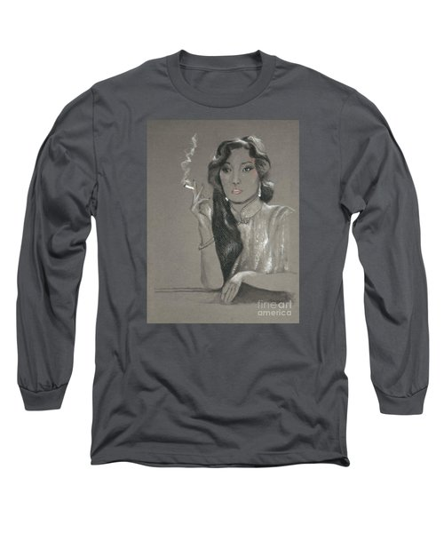 Gong Li -- Chinese Film Star Long Sleeve T-Shirt
