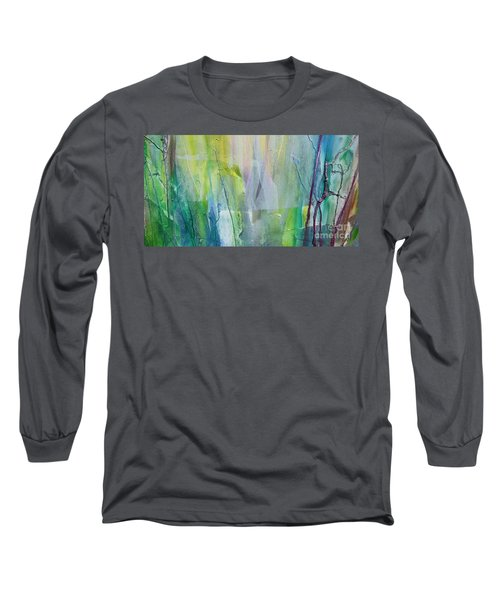 Shapes And Colors Long Sleeve T-Shirt by Dan Whittemore