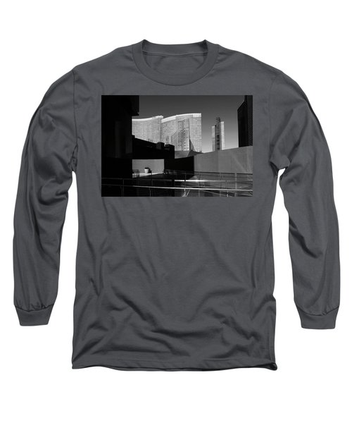 Shapes And Shadows 3720 Long Sleeve T-Shirt by Ricardo J Ruiz de Porras