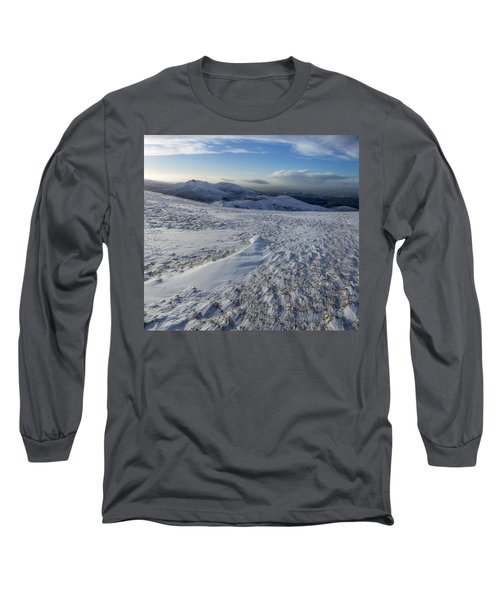 Shapes In The Ice And Far Away Long Sleeve T-Shirt