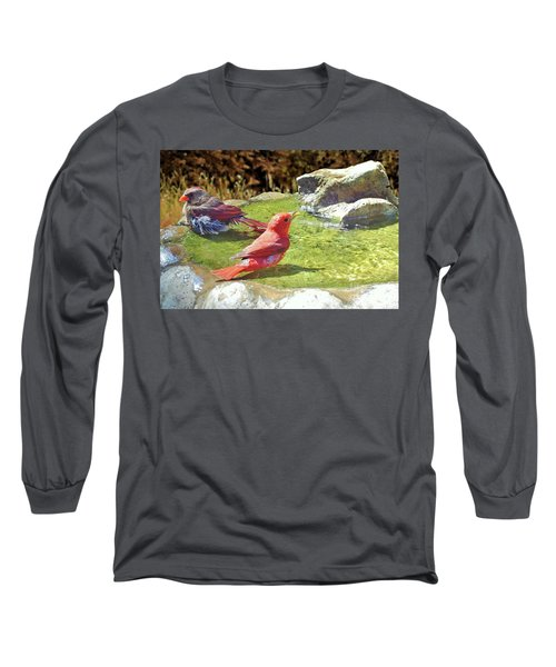 Sharing A Bath Long Sleeve T-Shirt