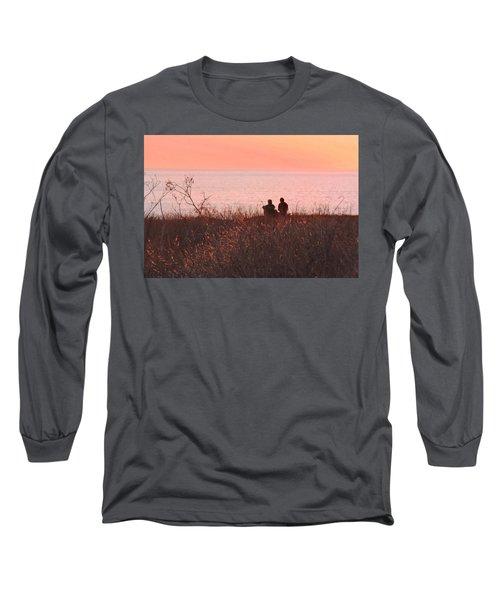 Sharing Tranquility Long Sleeve T-Shirt
