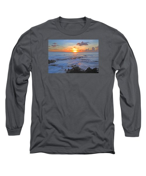 Sharks Cove Long Sleeve T-Shirt by James Roemmling