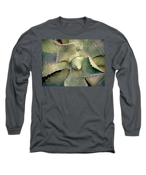 Sharp Embrace 8 Long Sleeve T-Shirt by Lynda Lehmann