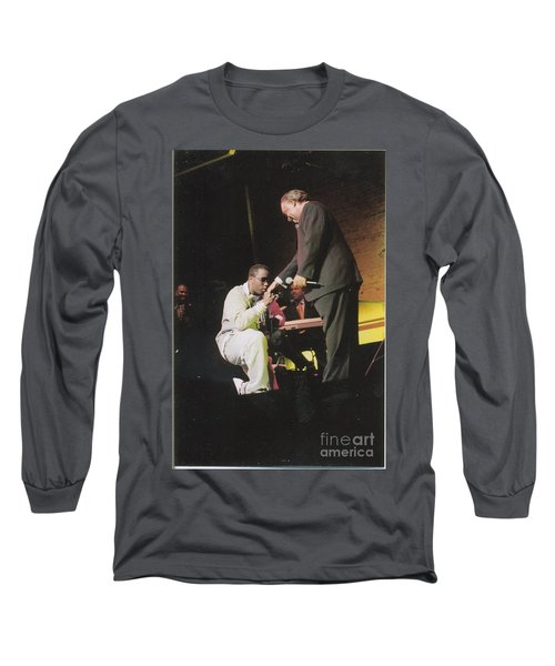 Sharpton 50th Birthday Long Sleeve T-Shirt by Azim Thomas