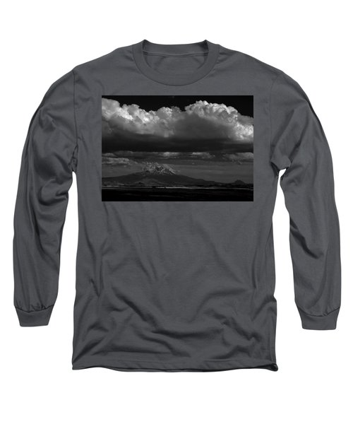 Long Sleeve T-Shirt featuring the photograph Shasta On July 17 by John Norman Stewart