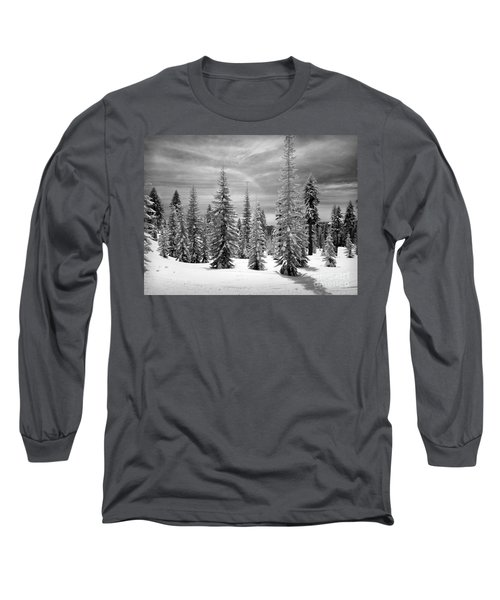 Shasta Snowtrees Long Sleeve T-Shirt