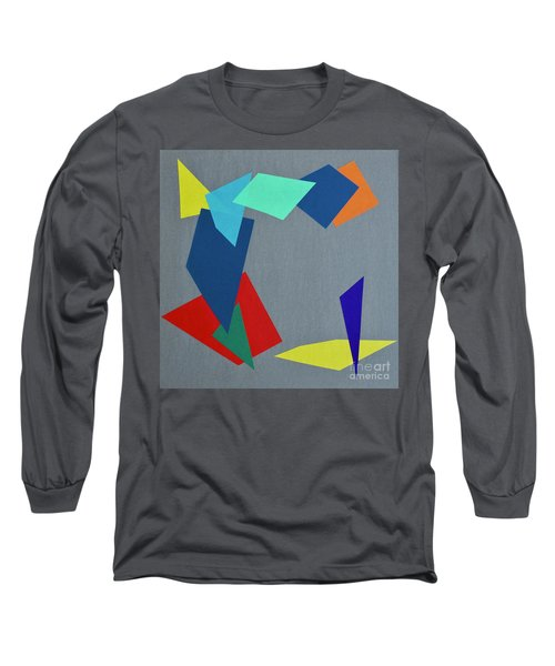 Shattered Long Sleeve T-Shirt