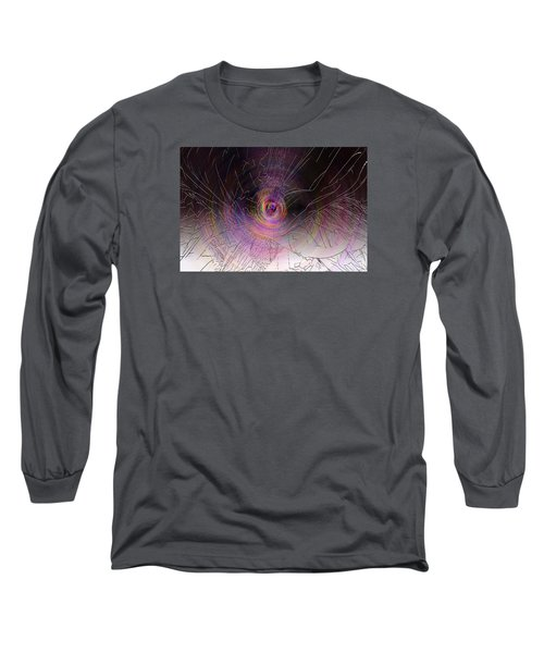 Shattered Long Sleeve T-Shirt by David Stasiak