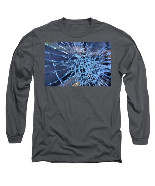 Shattered Glass In Color Long Sleeve T-Shirt