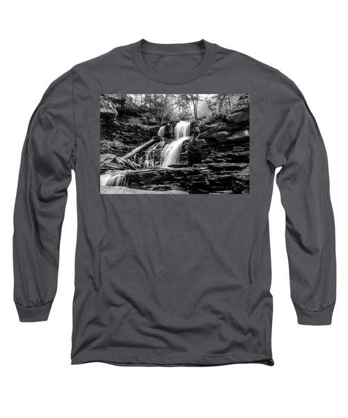 Shawnee Falls - 8892 Long Sleeve T-Shirt by G L Sarti