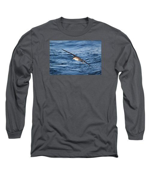 Long Sleeve T-Shirt featuring the photograph Shearwater by Richard Patmore