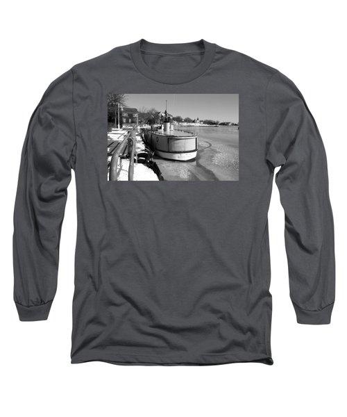 Long Sleeve T-Shirt featuring the photograph Sheboygan Riverwalk No.1,sheboygan Riverwalk No.5379ssheboygan Riverwalk No.1,sheboygan Riverwalk No by Janice Adomeit