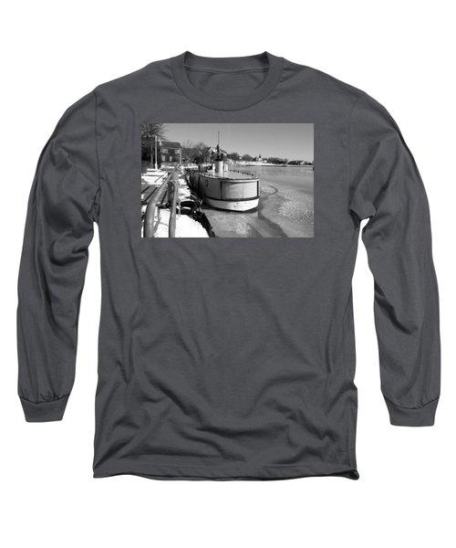 Sheboygan Riverwalk No.1,sheboygan Riverwalk No.5379ssheboygan Riverwalk No.1,sheboygan Riverwalk No Long Sleeve T-Shirt